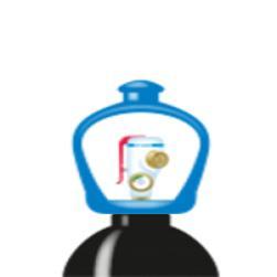 alphagaz™ 1 stickstoff flasche smartop
